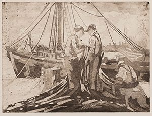 Image of Mending Nets