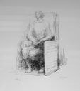 Image of Seated Woman in Armchair